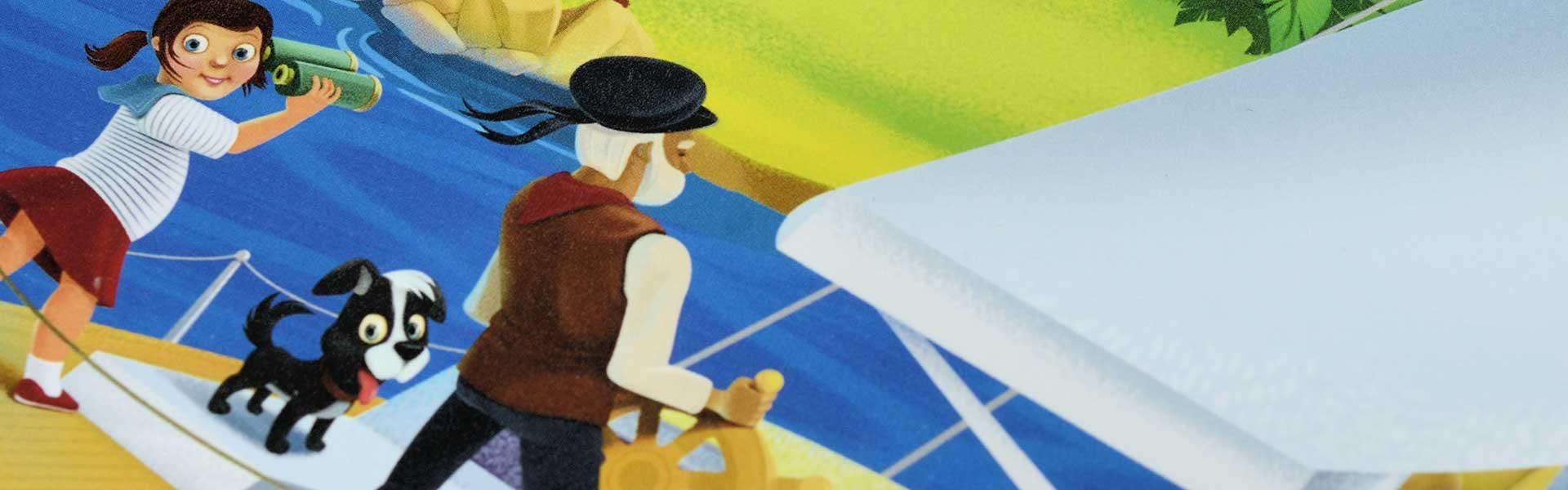 Путешествие на остров пиратов книжка с наклейками